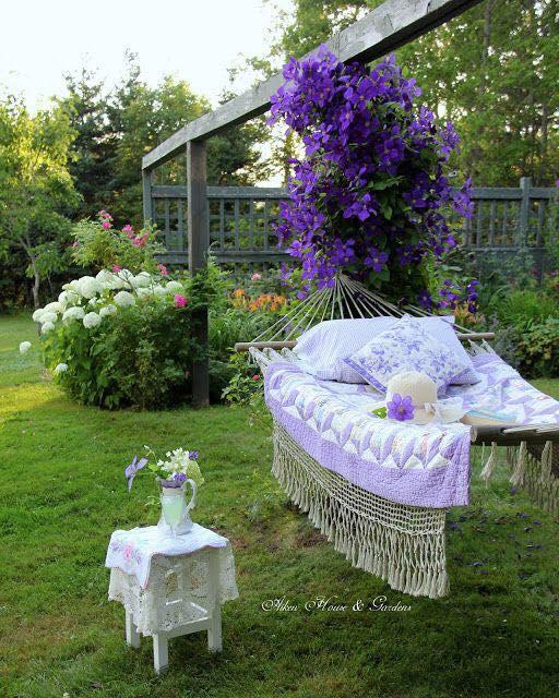 lavender hammock