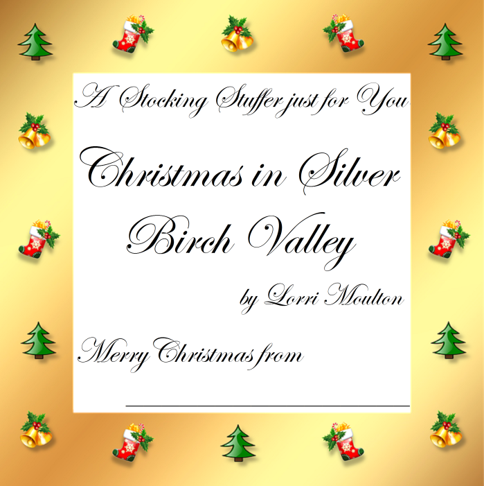 stocking certificate christmas in silver birch valley